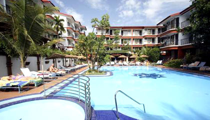 Overview Of Sun Village Goa Locational Advantage Hotel Is Located Near The Baga Beach